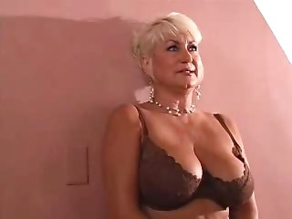 Big tits  blonde fuck young guy