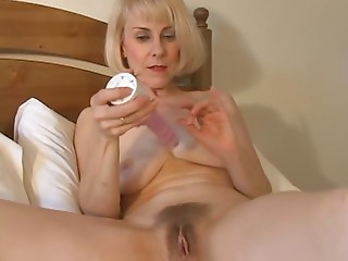 Ravishing Mamma Hazel May Plays With Her Bushy Snatch