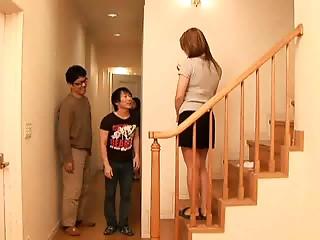 Japanese real mama   step mama