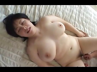 44yr mature Bulky Big breasted Japanese Mommy Desires Cum (Uncensored)
