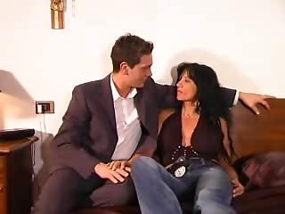 Italian Mamma and Son's ally