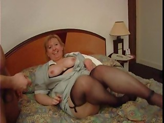 Old french maid with Large wazoo