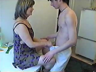 Mother has a messy idea with her Son's ally