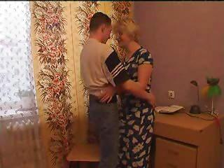 Mamma Seduces Her lad