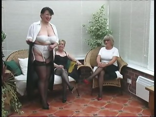 Vintage Stripping from 3 Older Village Ladies