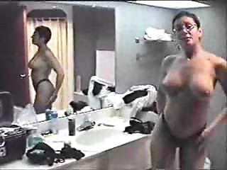 My marvelous Mommy gives me an excited oral stimulation at the hotel-F70