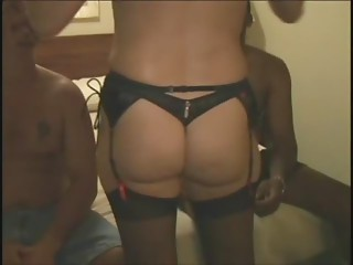 Hubby Shares His Wife With 2 Ebony Guys.elN