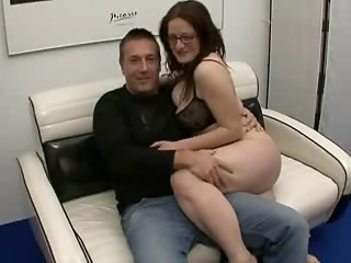 Mother I'd like to fuck And Her Hubby Casting German Pair