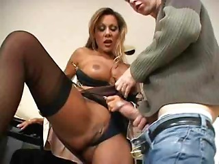 Sexy Breasty Mother I'd like to fuck MILF Demi Delia Bangs Student