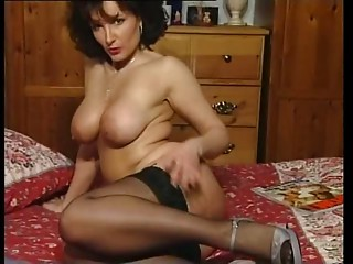 Sexy Dark brown Breasty MILF Teasing in various outfits V SEXY!