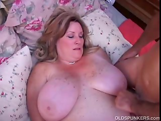 Marvelous elder BBW can't live without to bang