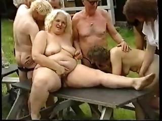 Elder Aged Swinger Sex Party