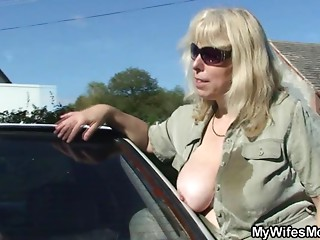 Wife catches her spouse fucking mom in law