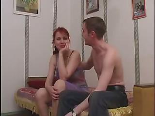 Youthful lad fucking sexy Russian