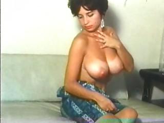 Retro nice-looking honeys with natural massive boobs!