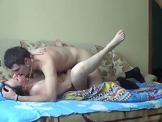 Russian aged mommy bonk with youthful chap