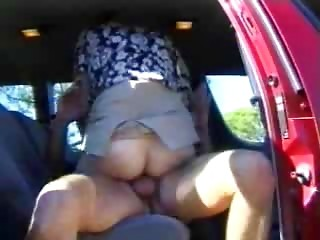 wife drilled in a car as spouse films