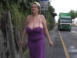 Solo #2 (Mature BBW with Large Boobs)