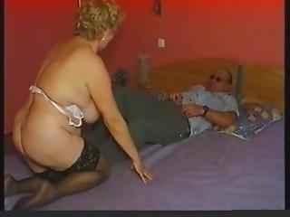 german grandmother 60yo screw