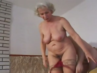 One more One of Old slut Norma Fucking in Nylons