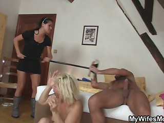 My wife is intend to kill me for fucking her mommy