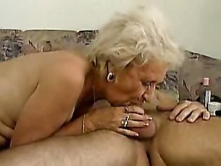 Old bitch can deepthroat