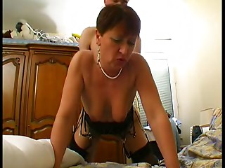 Mother I'd like to fuck in Underware and Nylons Bonks