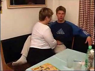 old bbw with her guy