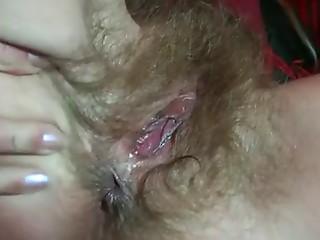 Very unshaved German golden-haired elder old bitch