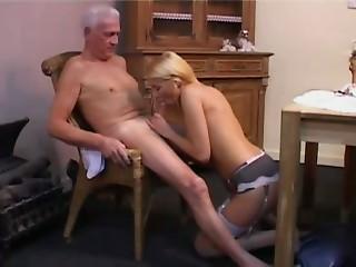Hawt nurse with elder man