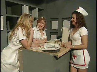Hawt nurse gang team fuck prt1