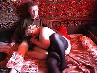 Russian Old bitch And Guy 067