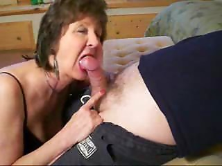 cougar is engulfing my dick! Real amateur.F70