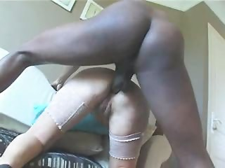 French Old bitch Acquires BBC Anal sex