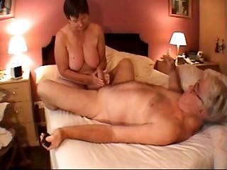 old bitch tugjob massage