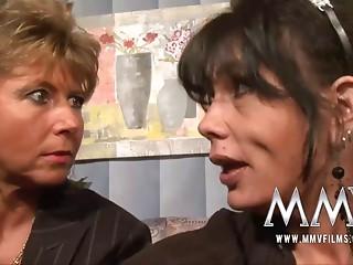 MMV Films Older teacher having enjoyment with a pair