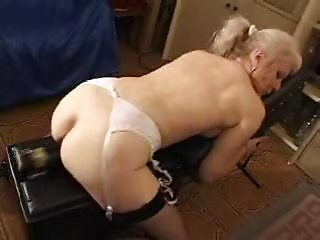 french bald golden-haired grandmother pt12
