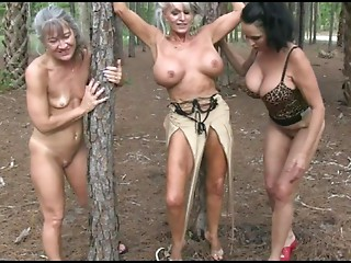 3 Bimbo Strumpets drilled in Forest