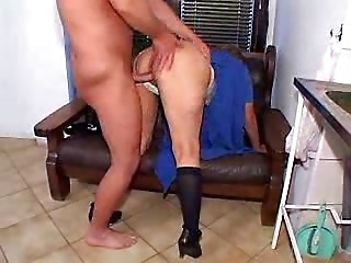 old bitch hard drilled