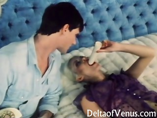 Vintage Porn 1970s - Seka Receives What This babe Wishes
