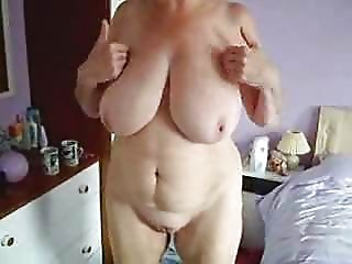 My big breasted mother fully in nature's garb selftape. Stolen episode