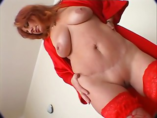 Lustful redheaded Elder getting drilled