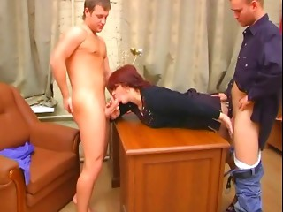 Dilettante older mamma drilled arse stab