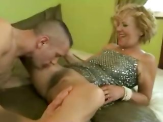 Admirable Titted Bushy Old