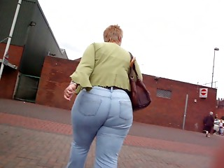 Large Wazoo Grandmother Jeans