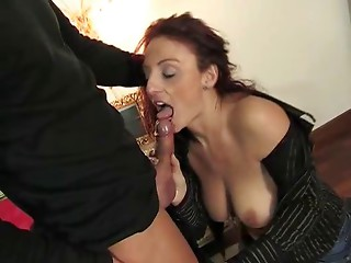 Elder italian girl getting slit and a-hole drilled