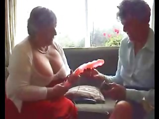 2 Grannies Try Out their Toys
