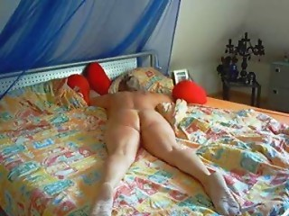 German Spanked and drilled