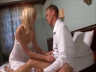 blond german mom