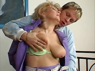 Hawt Blond Euro Old bitch MILF Banging